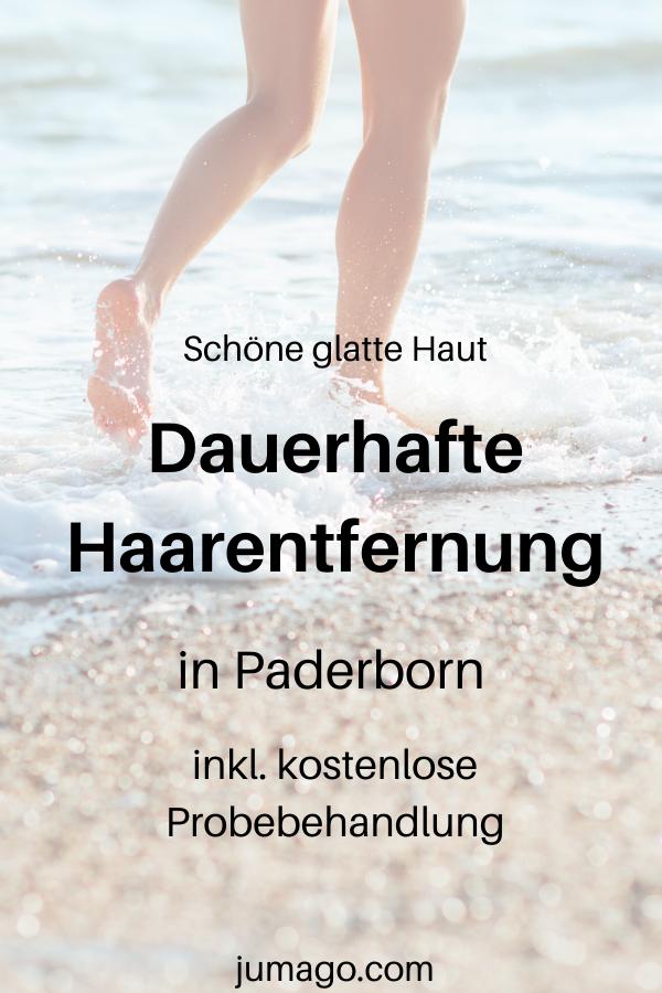Dauerhafte Haarentfernung in Paderborn mit kostenloser Probebehandlung und hochwertig medizinisch geprüfter Technologie plus Wohlgefühl