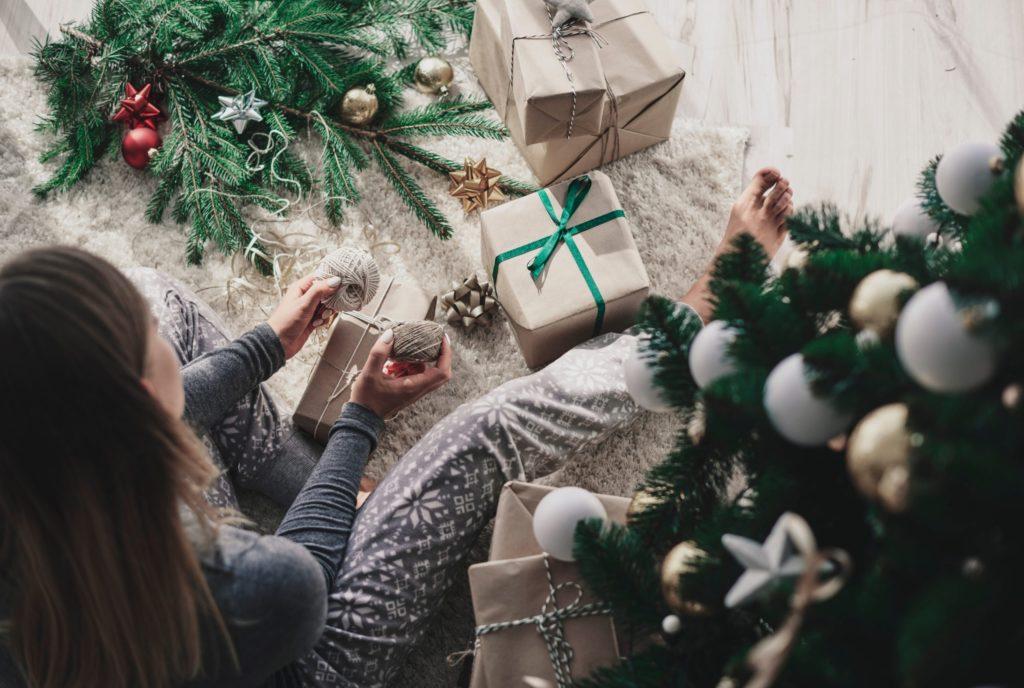 Gedanken Zu Weihnachten Und Zum Schenken