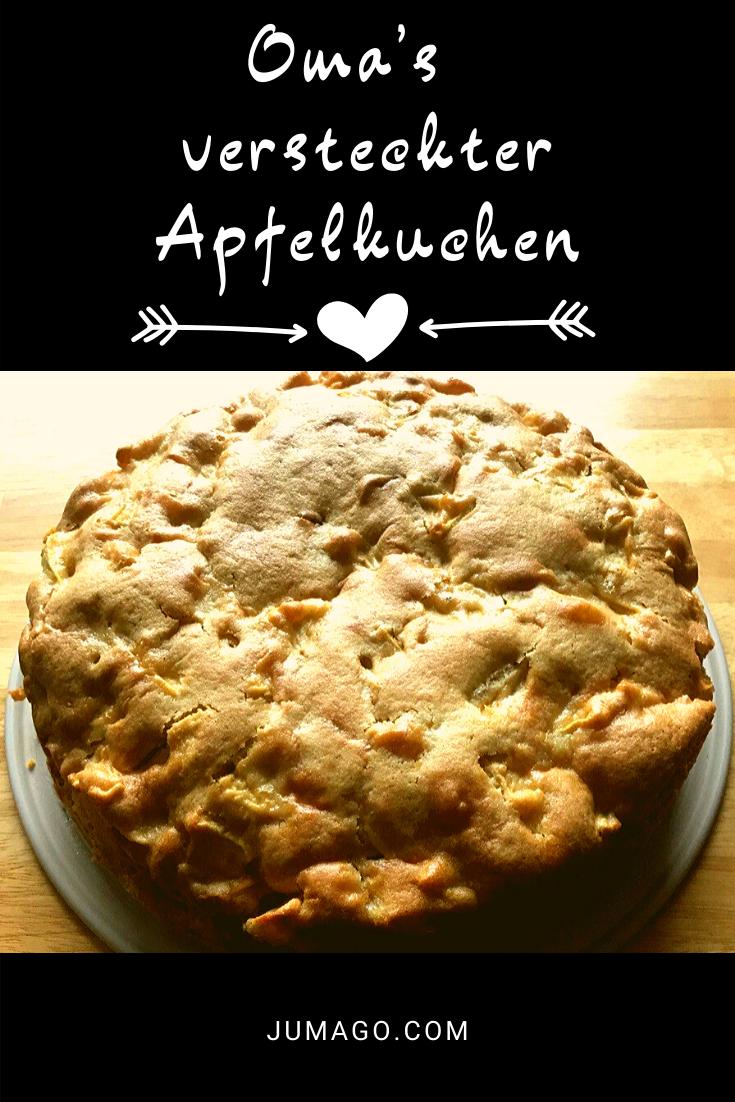 Omas versteckter Apfelkuchen